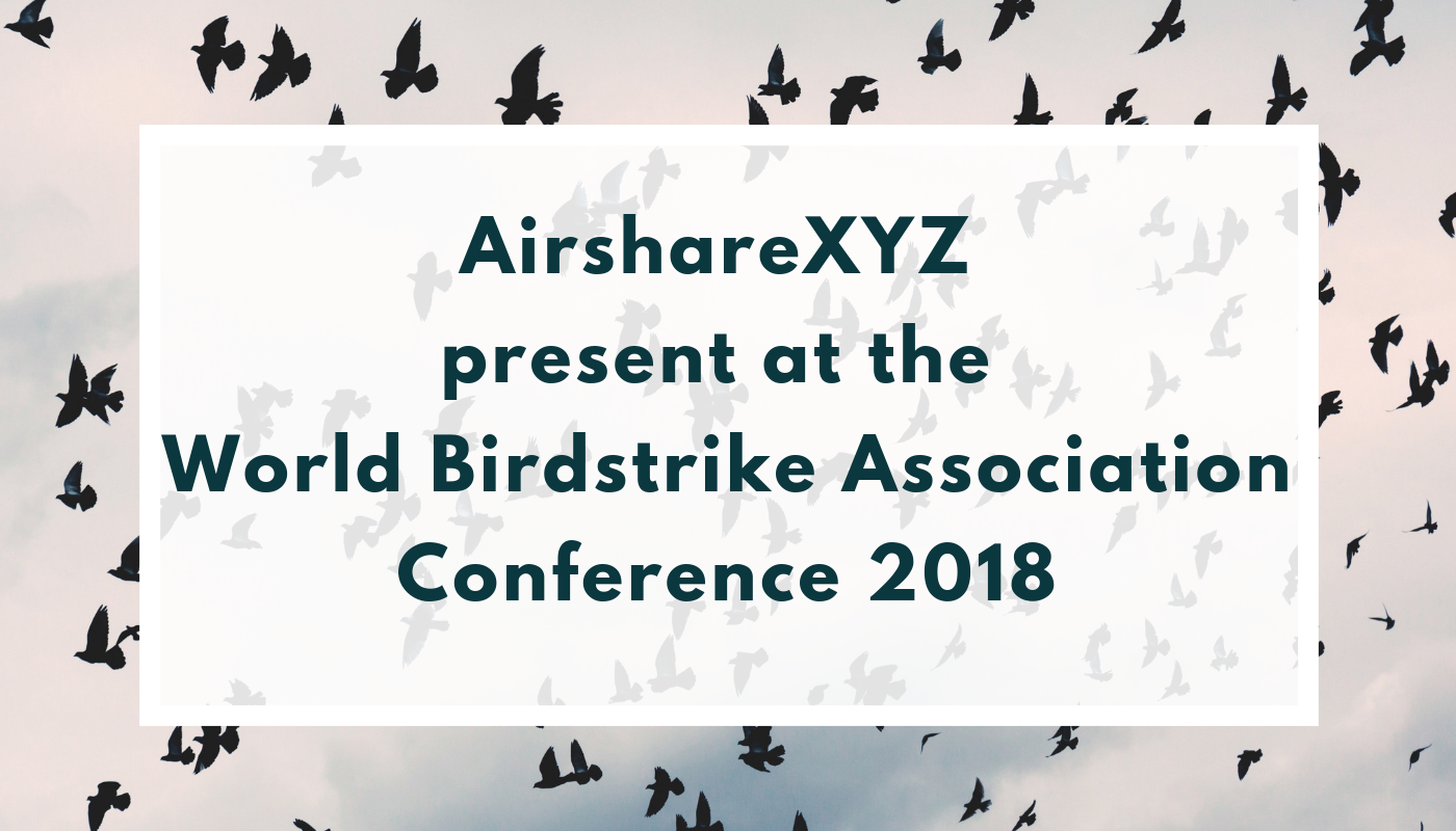 AirshareXYZ present at the World Birdstrike Association Conference